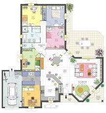 plan maison moderne 5 chambres plan maison moderne 5 chambres frais plan maison plein pied 90m2