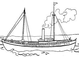 20 boats coloring pages images colouring