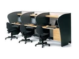 Computer Workstation Desk Office Desk Office Desk Workstation 2 Person U Shape Storage