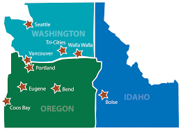 Washington State Radon Map by About Pbs Engineering And Environmental Pbs Engineering And