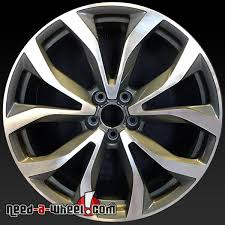 20 audi rims 20 audi a6 oem wheels 2012 2015 machined stock rims 58897
