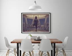 modern painting print on canvas star wars darth vader sith home