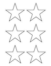 4 inch star pattern use the printable outline for crafts