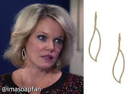 gh soap hair styles i m a soap fan ava jerome s pave cutout earrings general