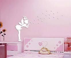 tickers chambre fille princesse sticker mural autocollant princesse etoiles décor chambre enfant