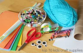 in the craft room basic craft supplies make and takes
