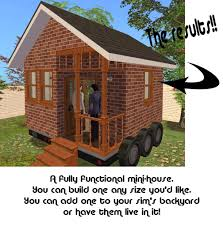 house kit mod the sims the mini house kit