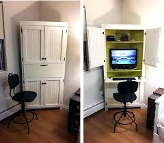 Computer Armoire Cabinet Armoire White Computer Armoire Antique Desk Corner Cabinet