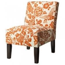 Orange Accent Chair Floral Accent Chairs Foter