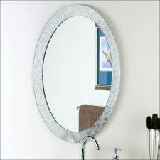 round mirror medicine cabinet oval mirror medicine cabinet firegrid org
