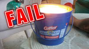 citronella fail cutter citro guard u0026 off bucket off brand not