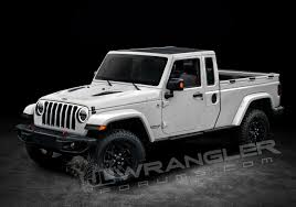 jeep wrangler pickup 2017 new details info based renders of the jeep wrangler pickup