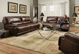 emmitt power reclining leather sofa u0026 2 loveseats u2013 katy furniture