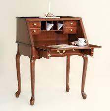 Wood Secretary Desk by Queen Anne Secretary Desk