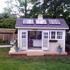 She Shed Kit Outdoor Home Why Not Build A Solar Powered Shed Modernize