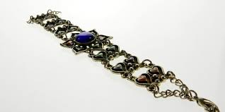 make silver necklace images How to make a japanese chain maille necklace milas silver jpg