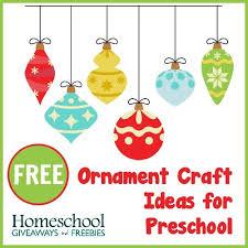 free ornament craft ideas for preschool