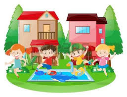 Backyard Clip Art Hosue Clipart Pool Pencil And In Color Hosue Clipart Pool