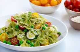 pea pesto pasta salad just a taste