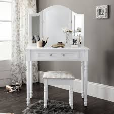 Bedroom Vanity Table Vanity Table With Drawers No Mirror Makeup Vanity With Plenty Of