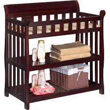 Changing Table Delta Children Eclipse Changing Table With Pad Espresso Cherry