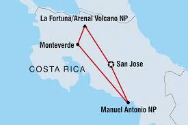 San Jose Costa Rica Map by Costa Rica Tours U0026 Travel Intrepid Travel Gb