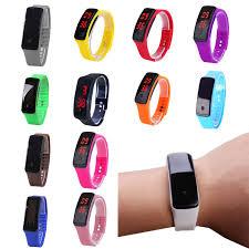 rubber bracelet watches images Waterproof touchscreen watch jpg