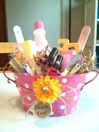 ideas for raffle baskets great ideas raffle basket theme manicure gift basket nail