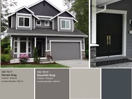 modern home colors interior gray houses with white trim exterior paint combinations inviting