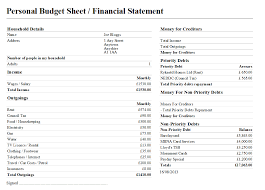 Yearly Income Statement Template by Sample Dmp North East Derbyshire Citizens Advice Bureau