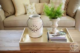 Big Coffee Tables by 5 Tips To Style A Coffee Table Like A Pro Stonegable