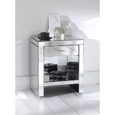 small mirrored nightstand furniture pier one mirrored nightstand