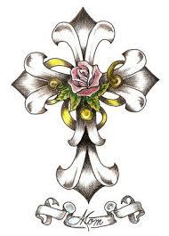 cowboy cross tattoos clip art library