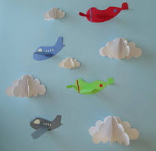 airplane wall decals plane wall decals planes and clouds 3d zoom