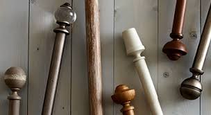 Cream Wooden Curtain Poles Curtain Poles Tracks U0026 Accessories John Lewis