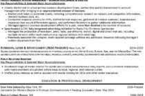 Investment Banking Resume Sample by Resume Sample Recentresumes Com