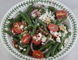 green bean salad with feta and walnuts cookie madness