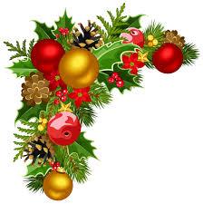 corner christmas tree corner christmas ornament border merry christmas happy new