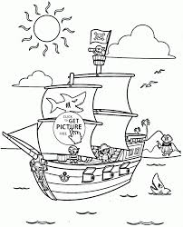 download coloring pages pirate ship coloring page bucky the