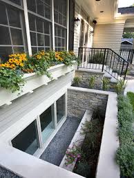 basement window well basement window well lanedscaping ideas photos houzz