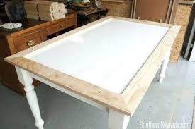 ceramic tile table top tile table top tile top table makeover updating a tile top table
