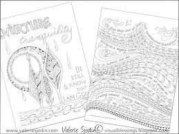 coloring pages art journal valerie sjodin