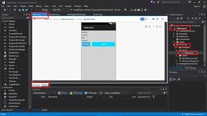 xamarin android table layout xamarin android tablelayout view using visual studio 2017