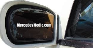 car door mirror glass how to remove replace side view mirror glass mercedes benz u2013 mb medic