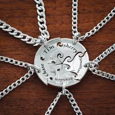 best friends puzzle necklace images 5 best friend necklace custom name necklaces interlocking puzzle jpg