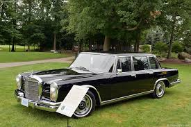 600 mercedes for sale auction results and data for 1969 mercedes 600 conceptcarz com