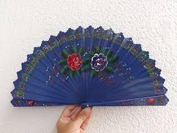 hand fans for sale brise blue floral folding fan sale wood folding hand fan flamenco