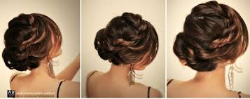 simple puff hairstyles for medium hair for cute everyday