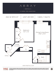 Empire State Building Floor Plan The Grove 250 W 19 Array Rentals