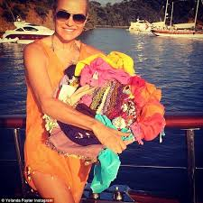Vacation Photo Album Inside Yolanda Foster U0027s Romantic Yacht Vacation Photo Album